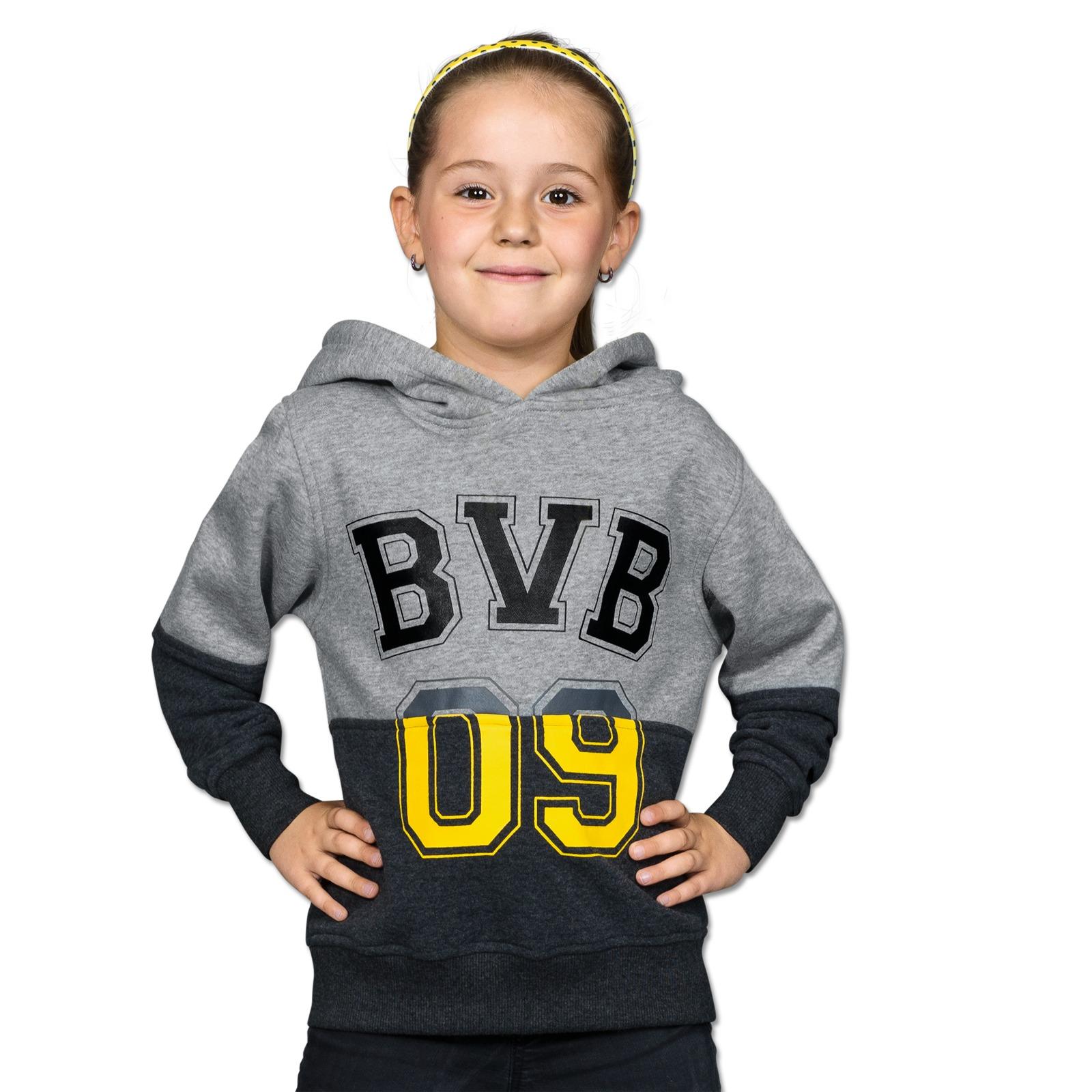 bvb kapuzensweatshirt f kleinkinder pullover jacken kinder offizieller bvb online fanshop. Black Bedroom Furniture Sets. Home Design Ideas
