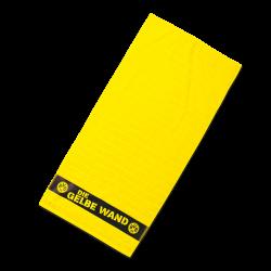 BVB-Duschtuch Gelbe Wand 70x140cm