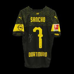 Matchworn Auswärts Sancho, signiert