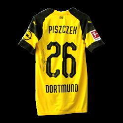 Matchworn Trikot Piszczek, Leipzig, signiert