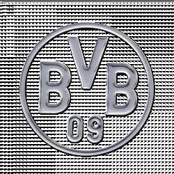 BVB-Auto-Aufkleber (silber)