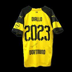 BVB-Heimtrikot 2018/19 Diallo, signiert, 2023