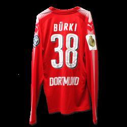 Matchvorbereitetes Torwarttrikot Bürki, DFB-Pokal