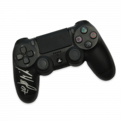 PS4 Controller Marius Wolf, Original-Unterschrift