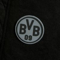BVB-Shorts mit Steppmuster schwarz