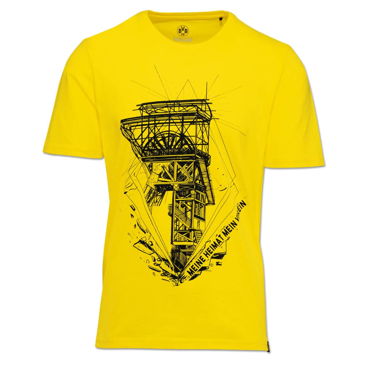 BVB 09 Borussia Dortmund Heimat T-Shirt