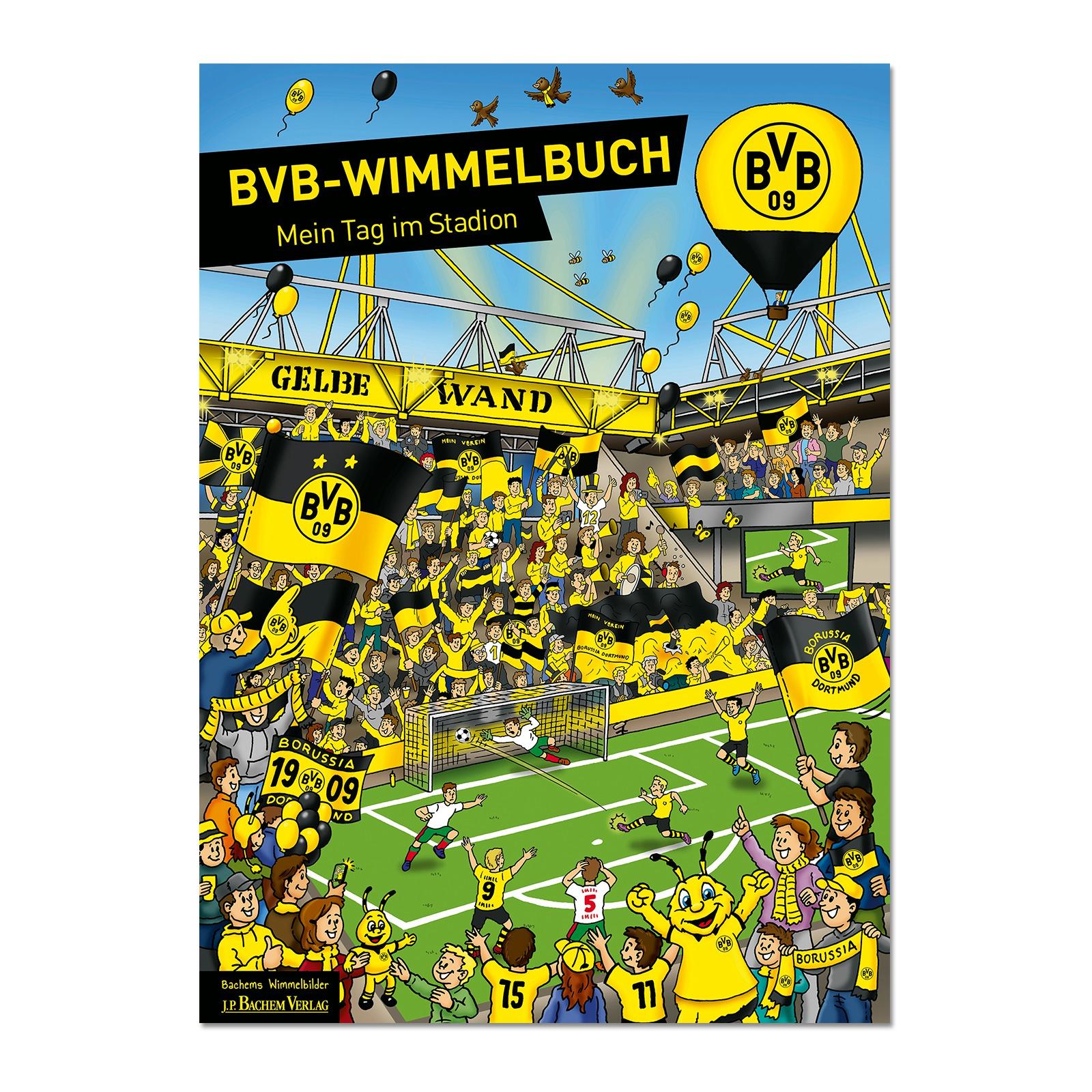 bvb wimmelbuch spielwaren kinder offizieller bvb online fanshop. Black Bedroom Furniture Sets. Home Design Ideas