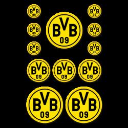 BVB-Aufkleberkarte
