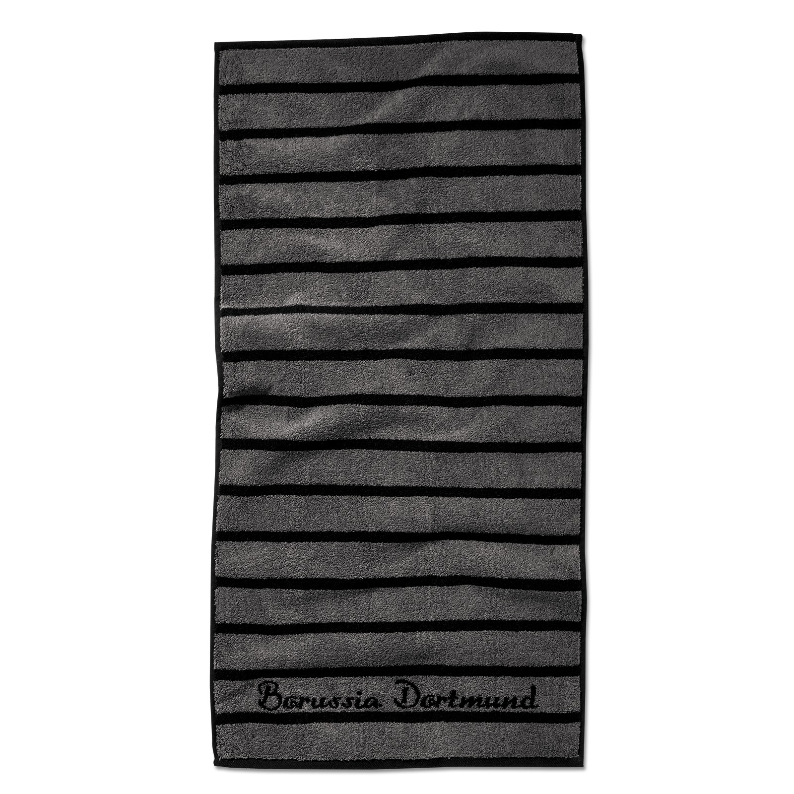 bvb handtuch schwarzgrau bad zu hause offizieller bvb online fanshop. Black Bedroom Furniture Sets. Home Design Ideas