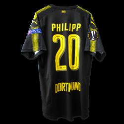 matchvorbereitetes Away-Trikot Philipp, UEL