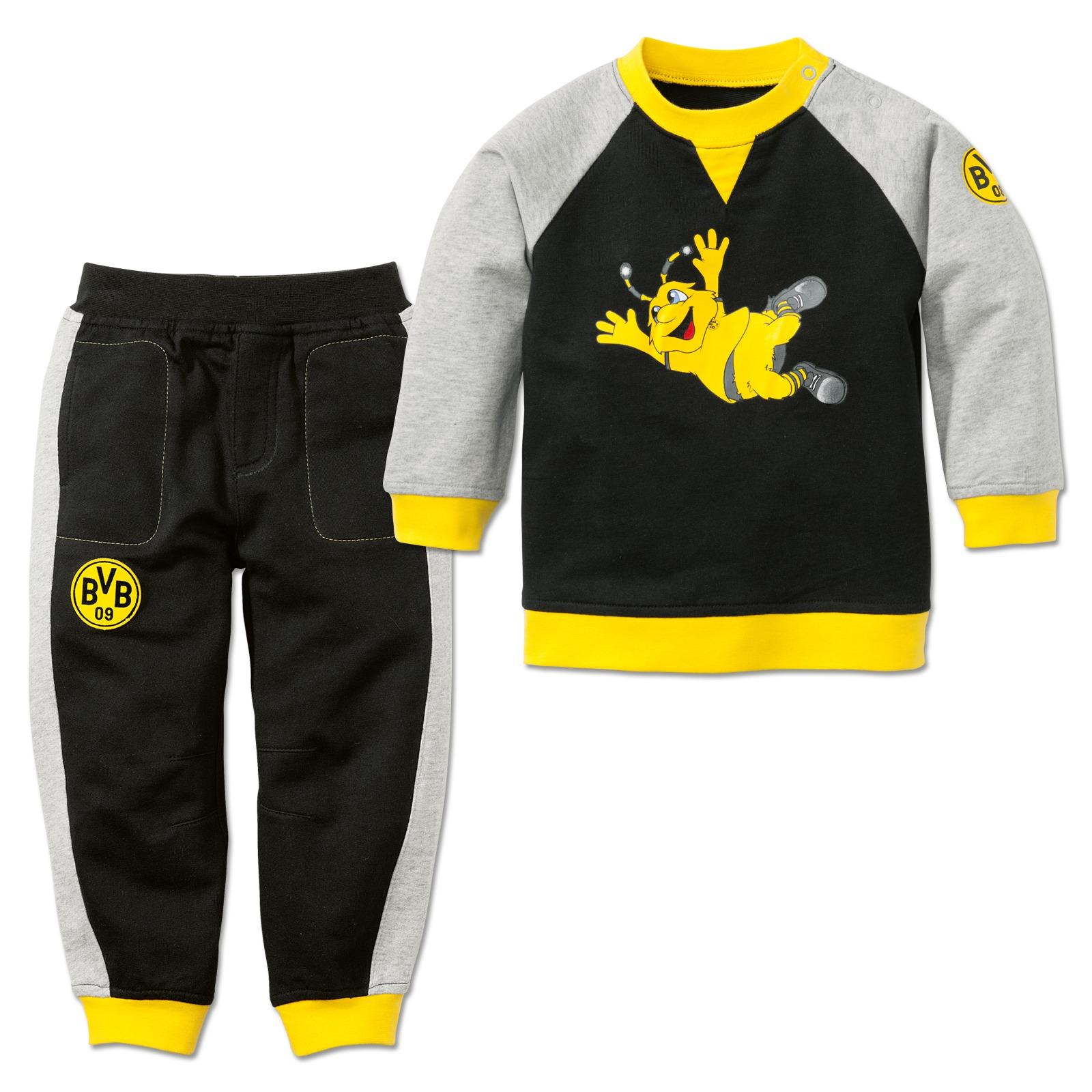bvb jogger f r babys und kleinkinder baby kinder offizieller bvb online fanshop. Black Bedroom Furniture Sets. Home Design Ideas