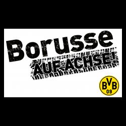 BVB-Autoaufkleber Borusse