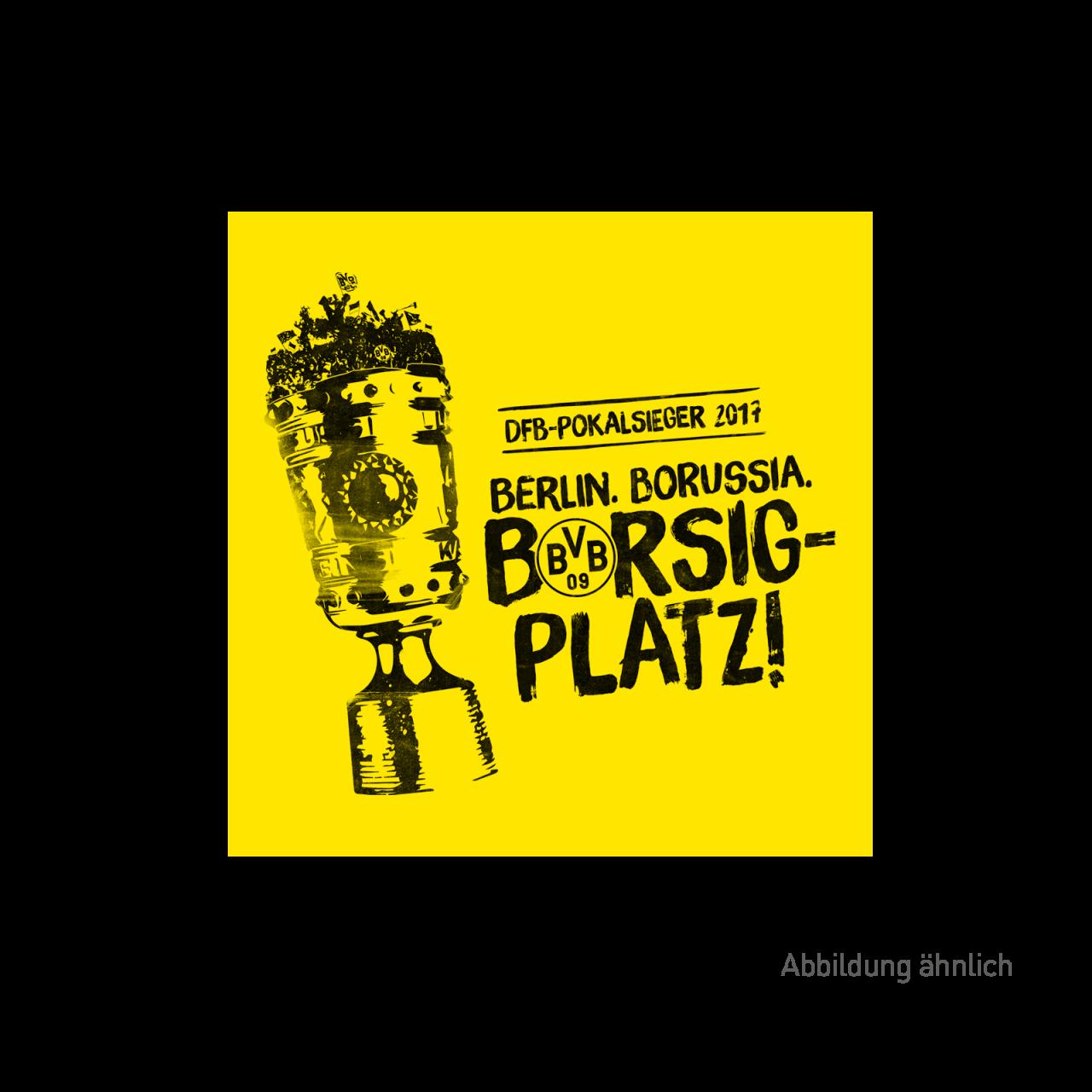 BVB-Aufkleber zum DFB-Pokalsieg 2017