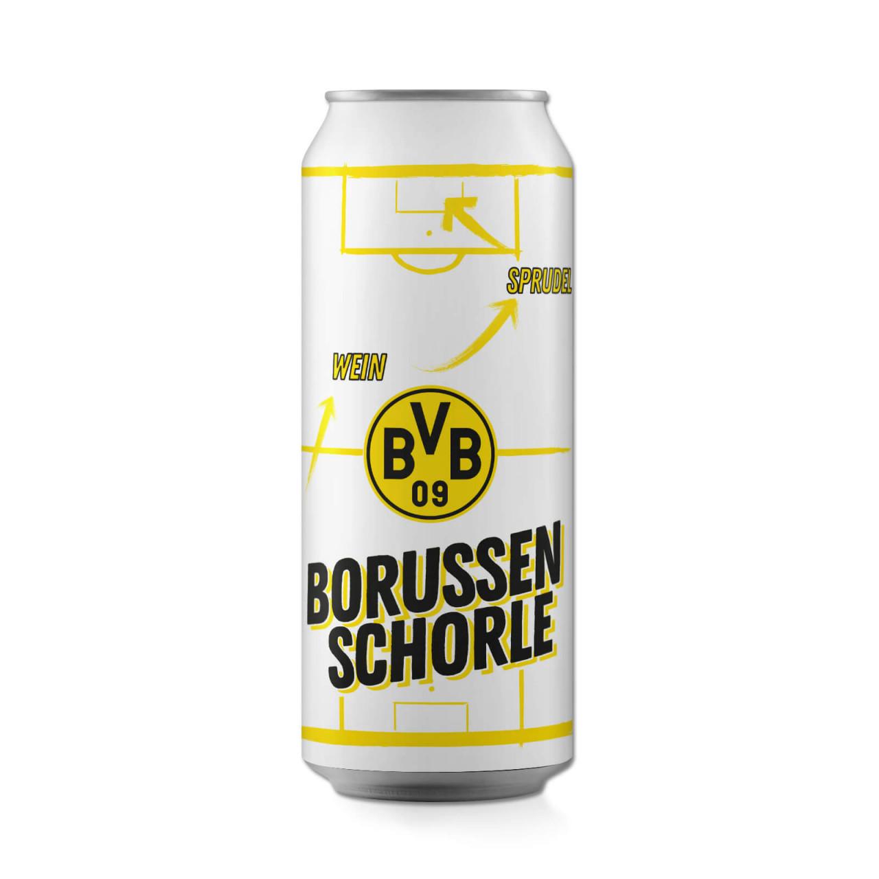 ORIGINAL BVB-Schnapsglas mit Kordel Borussia Dortmund