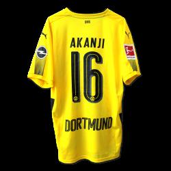 Matchvorbereites Heimtrikot, Akanji, SC Freiburg