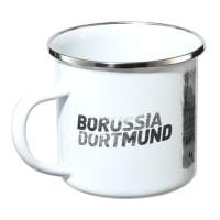Borussia Dortmund Emaille Tasse