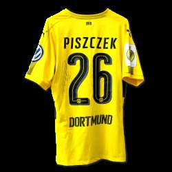 Matchvorbereitet Heimtrikot, Piszczek, DFB Pokal