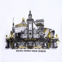 Bvb T Shirt Mhmv Fur Frauen Weiss Shirts Freizeit Frauen Offizieller Bvb Online Fanshop