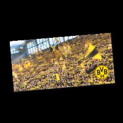 BVB-3D-Postkarte mit Südtribünenmotiv