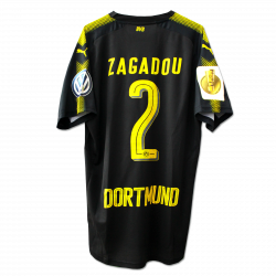 matchvorbereitet Away-Trikot, Zagadou, DFB Pokal