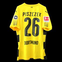 Matchworn Heimtrikot, Piszczek, Leverkusen, BL