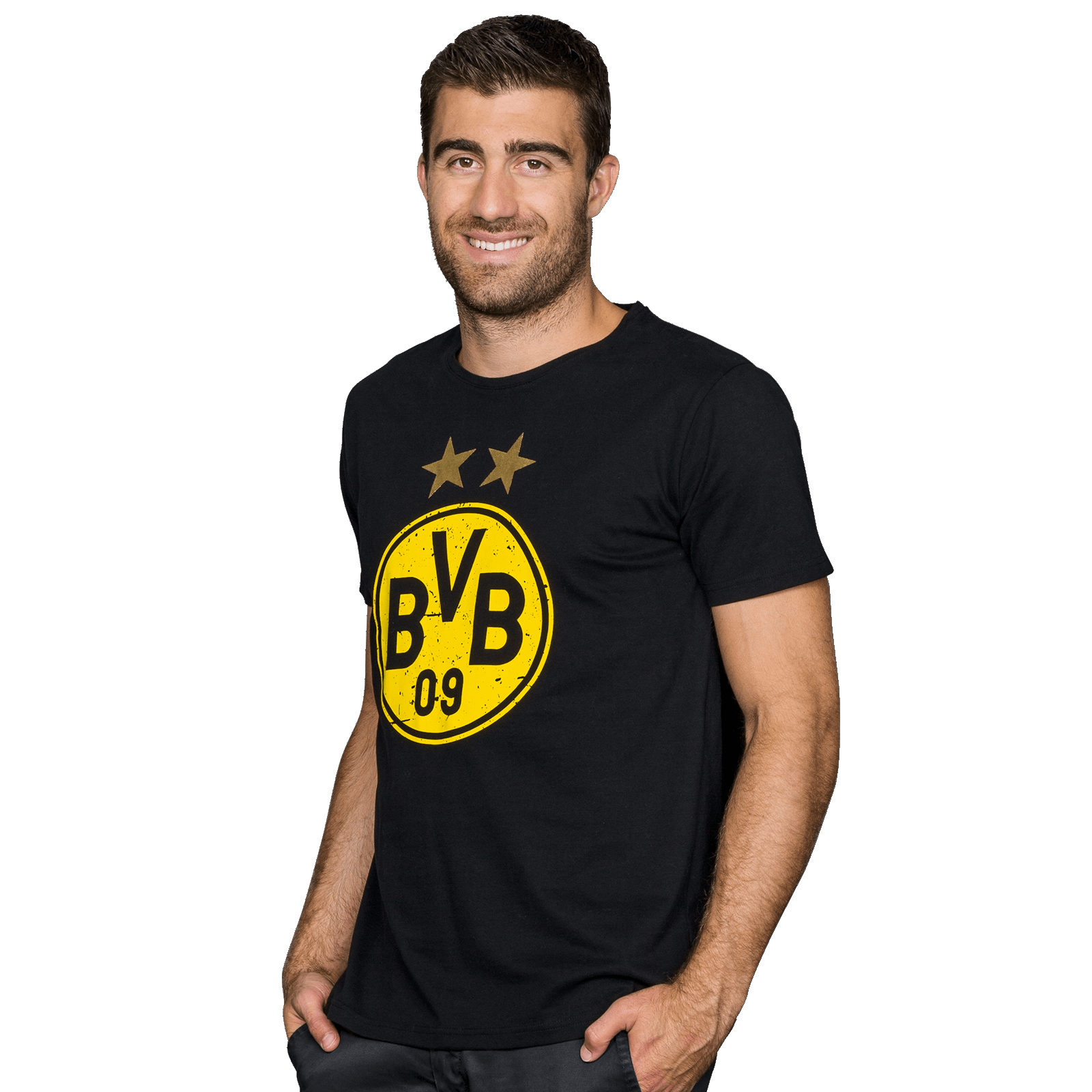 bvb t shirt shirts herren offizieller bvb online fanshop. Black Bedroom Furniture Sets. Home Design Ideas