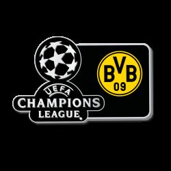 BVB-Pin zur UEFA CL