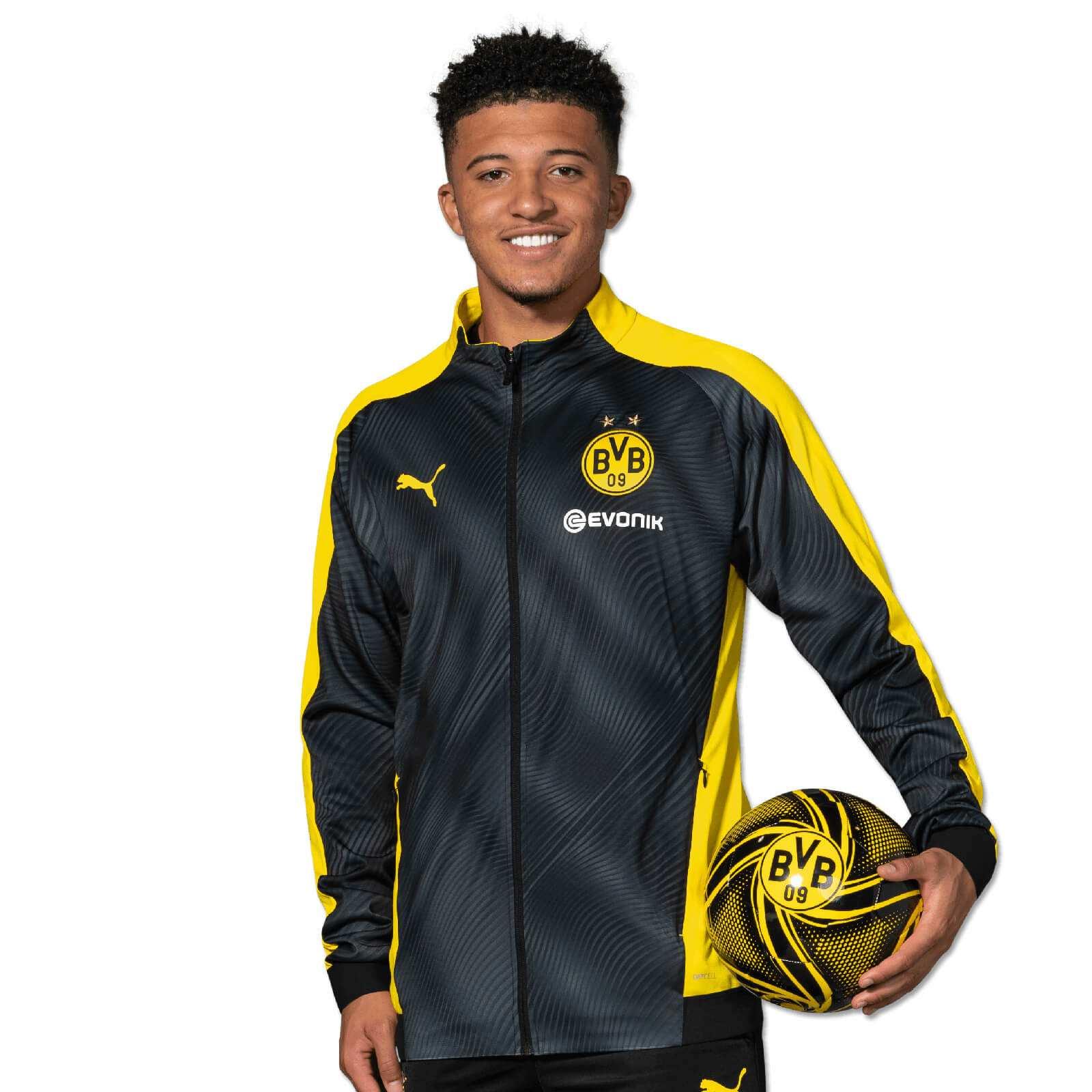Borussia Dortmund BVB 09 BVB-Bettw/äsche mit Herzen 135 x 20