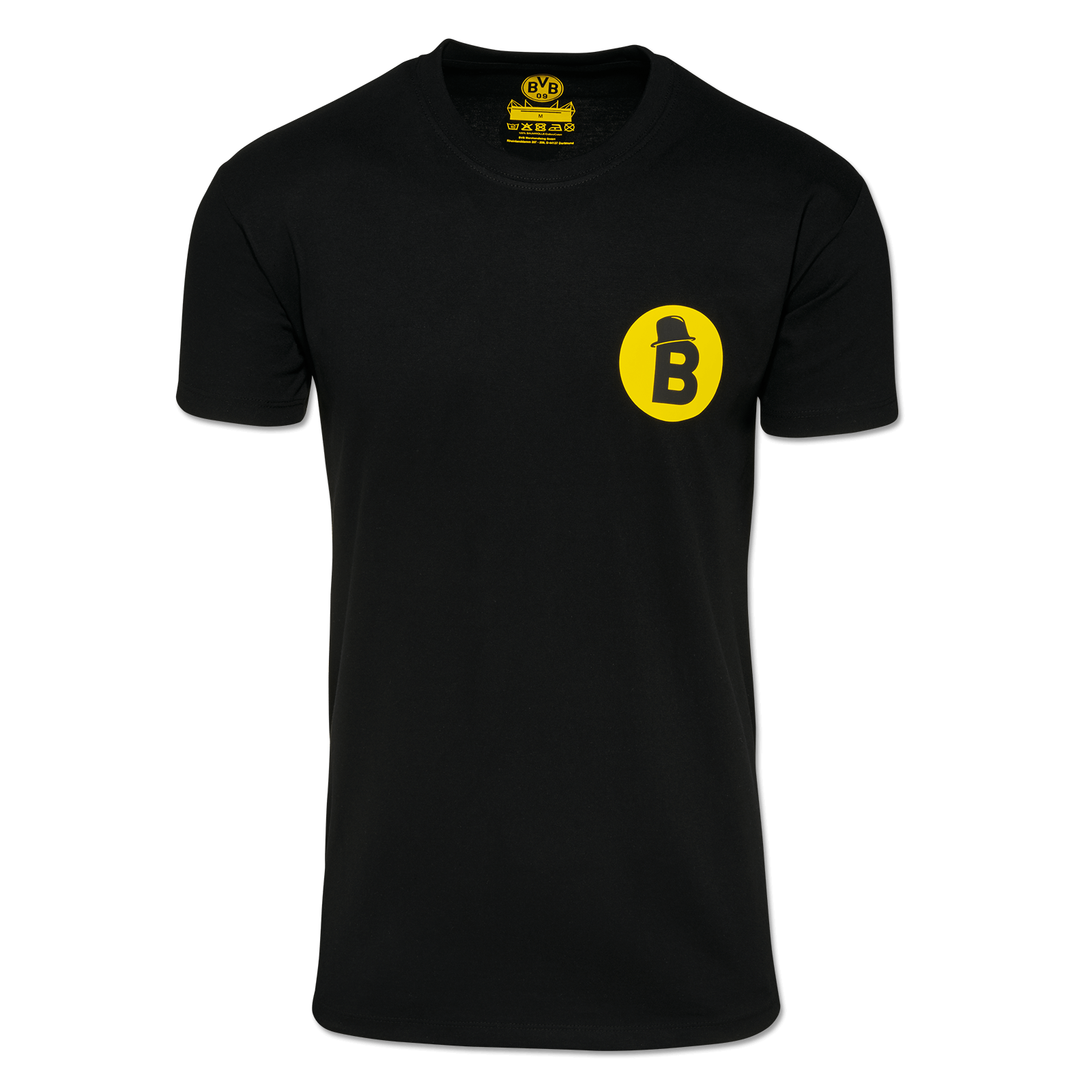 BVB Borussia Dortmund Langarm Sport Fan Sweatshirt Shirt Top Fußball Grau Herren