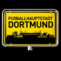 BVB-Autoaufkleber Fußballhauptstadt