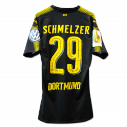 Matchvorbereitetes Away-Trikot Schmelzer DFB-Pokal